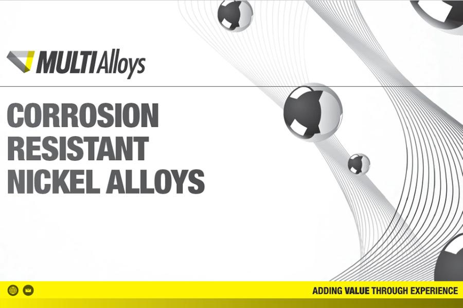 Corrosion Resistant Nickel Alloys